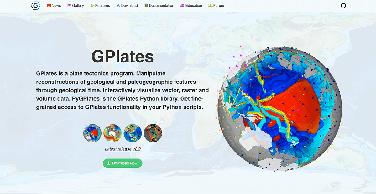 new-gplates-website-screenshot